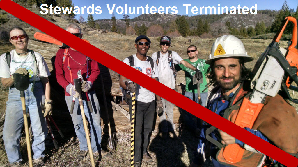 Volunteers Terminated